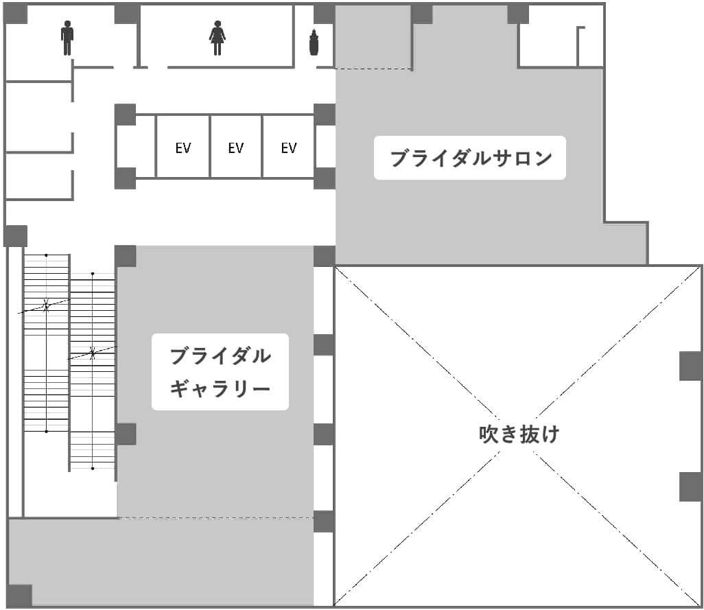 2階のフロアマップ画像