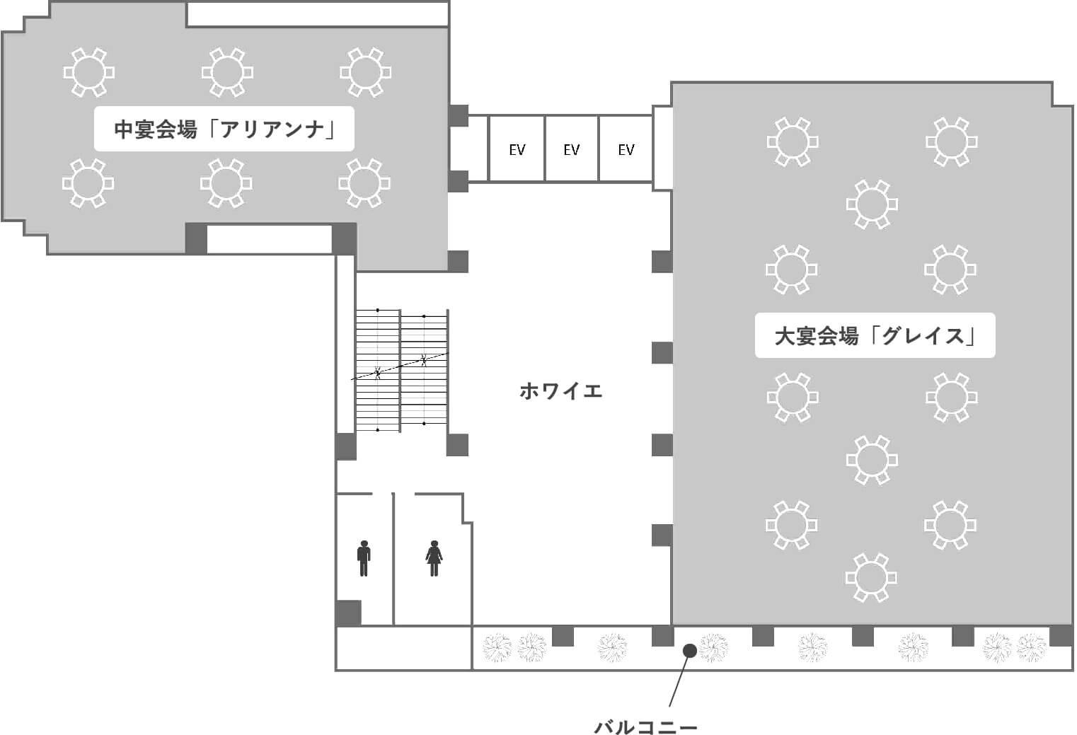 3階のフロアマップ画像
