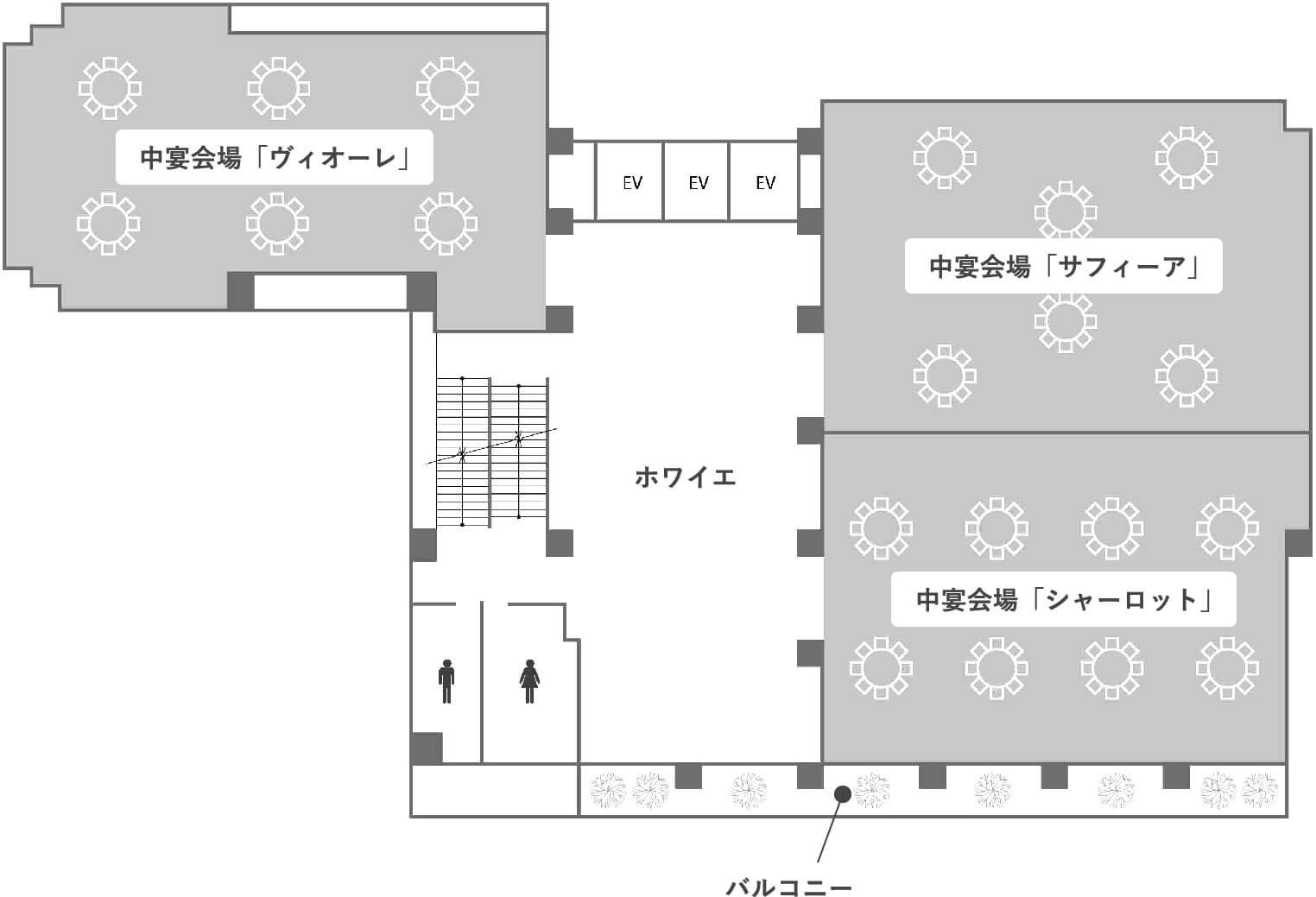 4階のフロアマップ画像