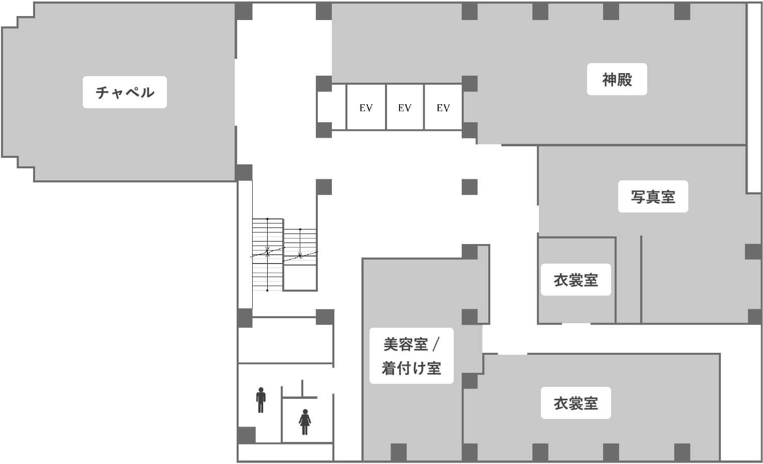 5階のフロアマップ画像