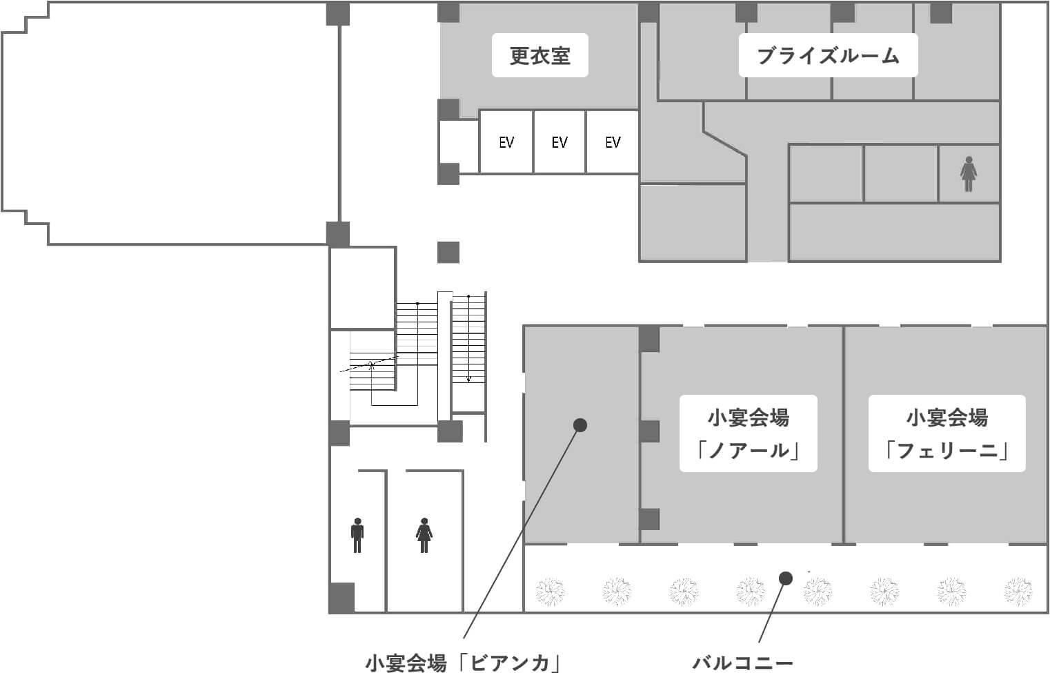 6階のフロアマップ画像