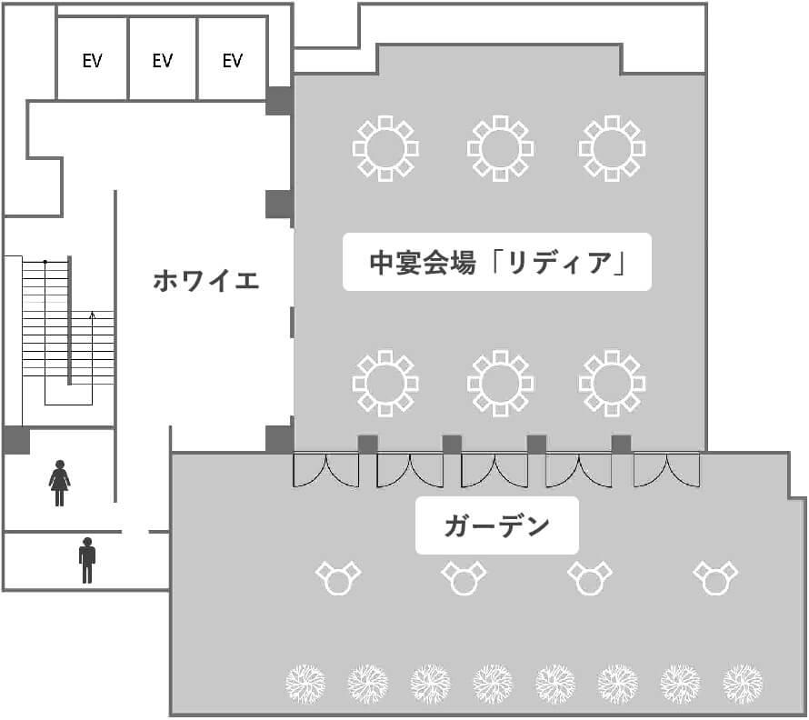 7階のフロアマップ画像