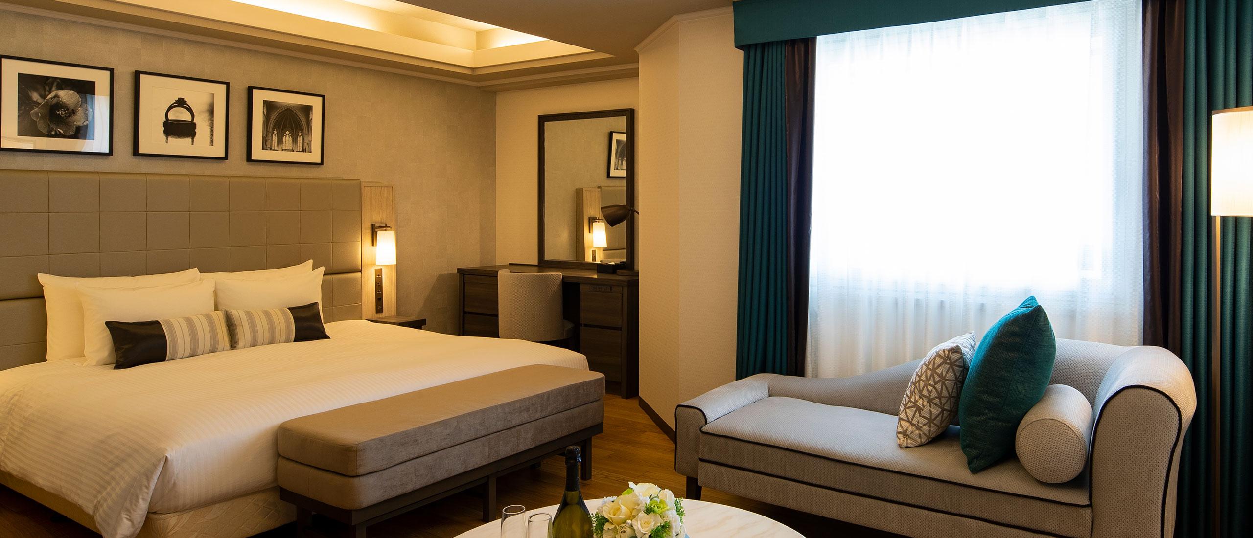 Shin-Yokohama Grace hotel guest room
