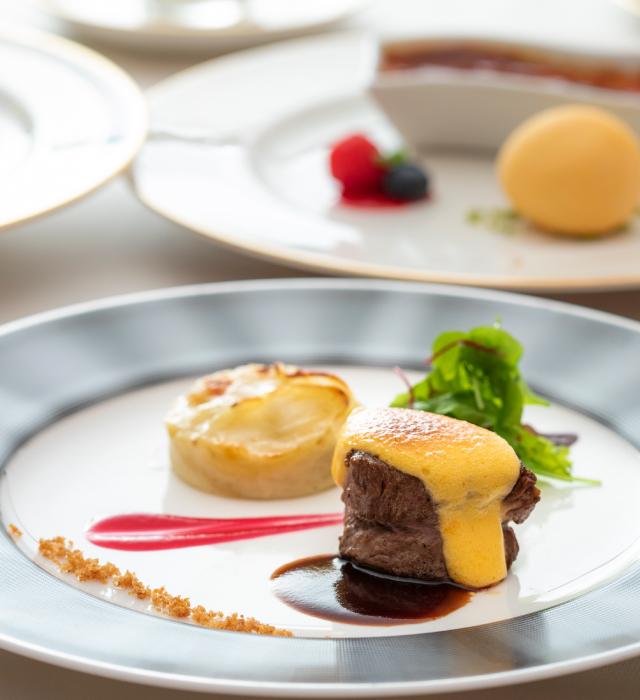 Shin-Yokohama Grace hotel dishes