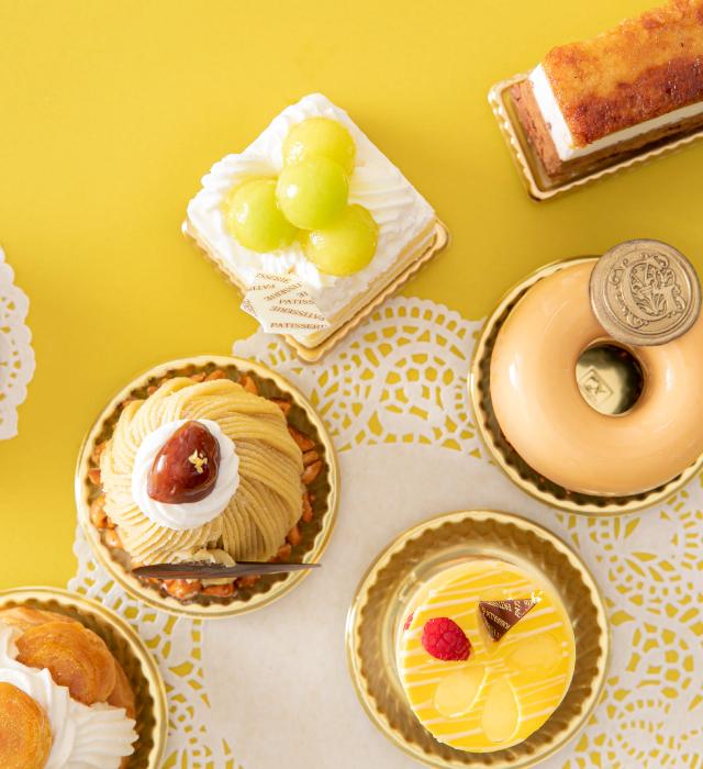Shin-Yokohama Grace hotel sweets